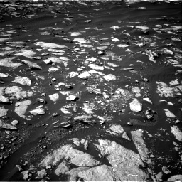 Nasa's Mars rover Curiosity acquired this image using its Right Navigation Camera on Sol 1596, at drive 2694, site number 60