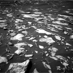Nasa's Mars rover Curiosity acquired this image using its Right Navigation Camera on Sol 1596, at drive 2718, site number 60