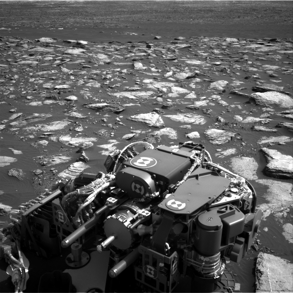 Nasa's Mars rover Curiosity acquired this image using its Right Navigation Camera on Sol 1596, at drive 2730, site number 60