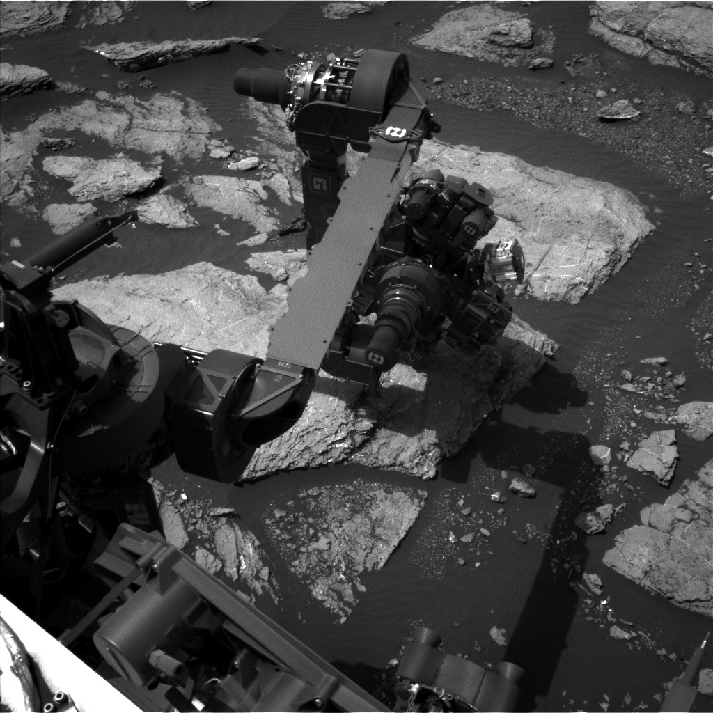 Nasa's Mars rover Curiosity acquired this image using its Left Navigation Camera on Sol 1598, at drive 2730, site number 60