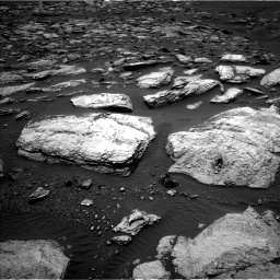 Nasa's Mars rover Curiosity acquired this image using its Left Navigation Camera on Sol 1598, at drive 2742, site number 60
