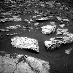 Nasa's Mars rover Curiosity acquired this image using its Left Navigation Camera on Sol 1598, at drive 2760, site number 60