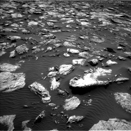 Nasa's Mars rover Curiosity acquired this image using its Left Navigation Camera on Sol 1598, at drive 2778, site number 60