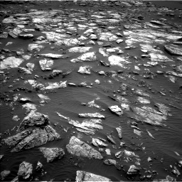 Nasa's Mars rover Curiosity acquired this image using its Left Navigation Camera on Sol 1598, at drive 2796, site number 60