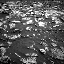 Nasa's Mars rover Curiosity acquired this image using its Left Navigation Camera on Sol 1598, at drive 2802, site number 60