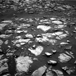 Nasa's Mars rover Curiosity acquired this image using its Left Navigation Camera on Sol 1598, at drive 2844, site number 60