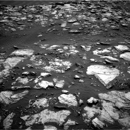 Nasa's Mars rover Curiosity acquired this image using its Left Navigation Camera on Sol 1598, at drive 2856, site number 60