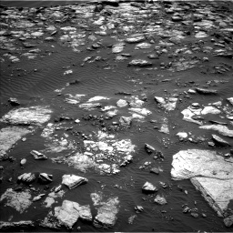 Nasa's Mars rover Curiosity acquired this image using its Left Navigation Camera on Sol 1598, at drive 2862, site number 60