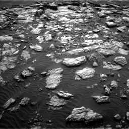 Nasa's Mars rover Curiosity acquired this image using its Left Navigation Camera on Sol 1598, at drive 2886, site number 60