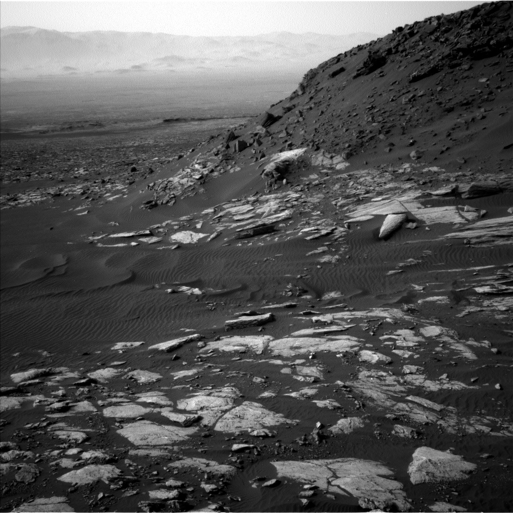 Nasa's Mars rover Curiosity acquired this image using its Left Navigation Camera on Sol 1598, at drive 2928, site number 60