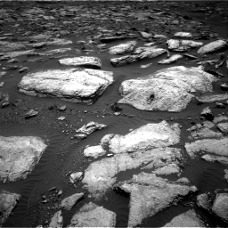 Nasa's Mars rover Curiosity acquired this image using its Right Navigation Camera on Sol 1598, at drive 2736, site number 60