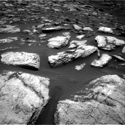 Nasa's Mars rover Curiosity acquired this image using its Right Navigation Camera on Sol 1598, at drive 2754, site number 60