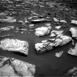 Nasa's Mars rover Curiosity acquired this image using its Right Navigation Camera on Sol 1598, at drive 2760, site number 60