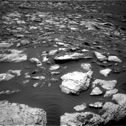 Nasa's Mars rover Curiosity acquired this image using its Right Navigation Camera on Sol 1598, at drive 2766, site number 60
