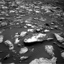 Nasa's Mars rover Curiosity acquired this image using its Right Navigation Camera on Sol 1598, at drive 2778, site number 60