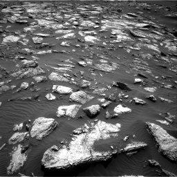 Nasa's Mars rover Curiosity acquired this image using its Right Navigation Camera on Sol 1598, at drive 2784, site number 60