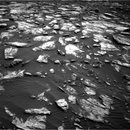 Nasa's Mars rover Curiosity acquired this image using its Right Navigation Camera on Sol 1598, at drive 2802, site number 60
