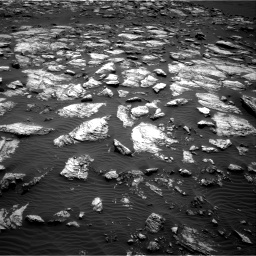 Nasa's Mars rover Curiosity acquired this image using its Right Navigation Camera on Sol 1598, at drive 2808, site number 60
