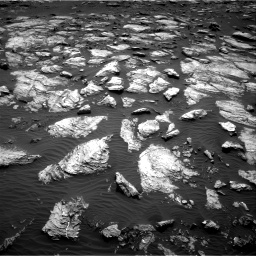 Nasa's Mars rover Curiosity acquired this image using its Right Navigation Camera on Sol 1598, at drive 2814, site number 60