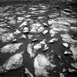 Nasa's Mars rover Curiosity acquired this image using its Right Navigation Camera on Sol 1598, at drive 2820, site number 60