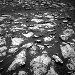 Nasa's Mars rover Curiosity acquired this image using its Right Navigation Camera on Sol 1598, at drive 2838, site number 60