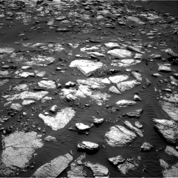 Nasa's Mars rover Curiosity acquired this image using its Right Navigation Camera on Sol 1598, at drive 2844, site number 60