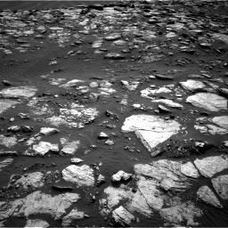 Nasa's Mars rover Curiosity acquired this image using its Right Navigation Camera on Sol 1598, at drive 2856, site number 60