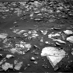 Nasa's Mars rover Curiosity acquired this image using its Right Navigation Camera on Sol 1598, at drive 2862, site number 60