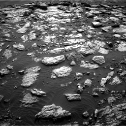 Nasa's Mars rover Curiosity acquired this image using its Right Navigation Camera on Sol 1598, at drive 2886, site number 60