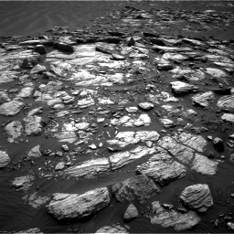 Nasa's Mars rover Curiosity acquired this image using its Right Navigation Camera on Sol 1598, at drive 2898, site number 60