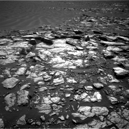 Nasa's Mars rover Curiosity acquired this image using its Right Navigation Camera on Sol 1598, at drive 2904, site number 60