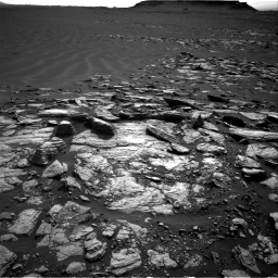 Nasa's Mars rover Curiosity acquired this image using its Right Navigation Camera on Sol 1598, at drive 2910, site number 60