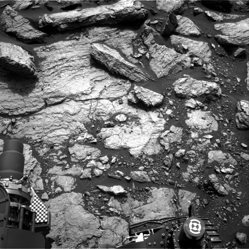 Nasa's Mars rover Curiosity acquired this image using its Right Navigation Camera on Sol 1598, at drive 2928, site number 60