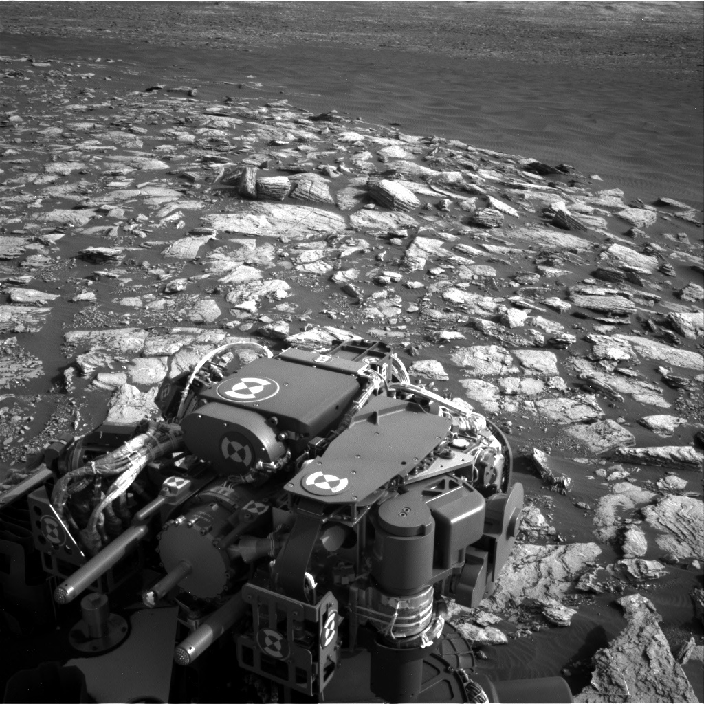 NASA's Mars rover Curiosity acquired this image using its Right Navigation Cameras (Navcams) on Sol 1598