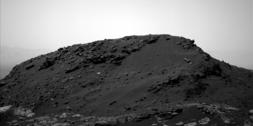 NASA's Mars rover Curiosity acquired this image using its Left Navigation Camera (Navcams) on Sol 1600