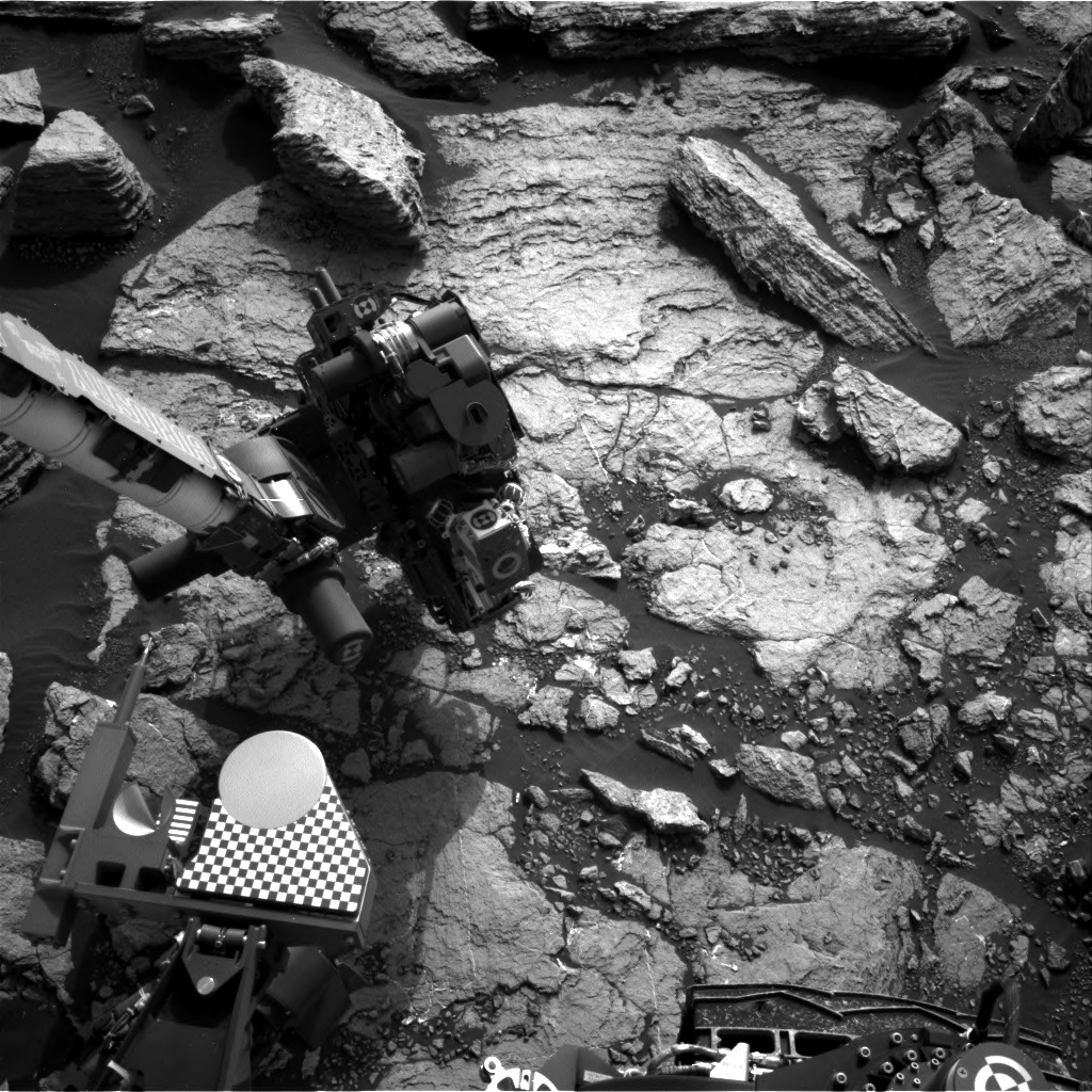 Nasa's Mars rover Curiosity acquired this image using its Right Navigation Camera on Sol 1600, at drive 2928, site number 60