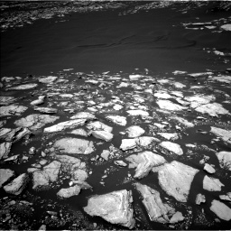 Nasa's Mars rover Curiosity acquired this image using its Left Navigation Camera on Sol 1601, at drive 2934, site number 60