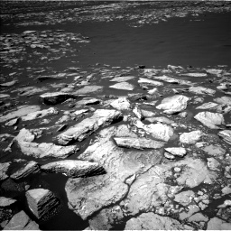 Nasa's Mars rover Curiosity acquired this image using its Left Navigation Camera on Sol 1601, at drive 2952, site number 60