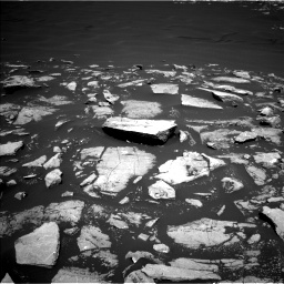 Nasa's Mars rover Curiosity acquired this image using its Left Navigation Camera on Sol 1601, at drive 2982, site number 60