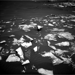 Nasa's Mars rover Curiosity acquired this image using its Left Navigation Camera on Sol 1601, at drive 3036, site number 60