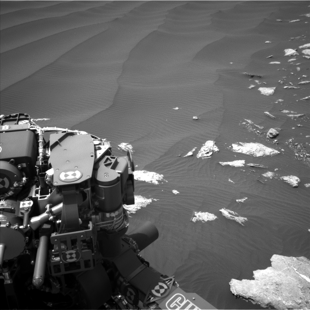 Nasa's Mars rover Curiosity acquired this image using its Left Navigation Camera on Sol 1601, at drive 3090, site number 60