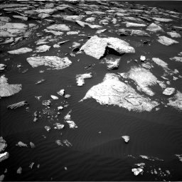 Nasa's Mars rover Curiosity acquired this image using its Left Navigation Camera on Sol 1601, at drive 3144, site number 60