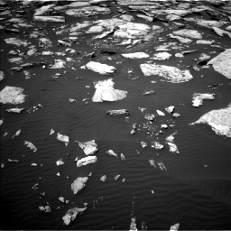 Nasa's Mars rover Curiosity acquired this image using its Left Navigation Camera on Sol 1601, at drive 3162, site number 60