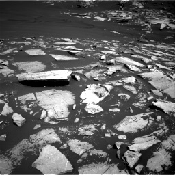 Nasa's Mars rover Curiosity acquired this image using its Right Navigation Camera on Sol 1601, at drive 3012, site number 60
