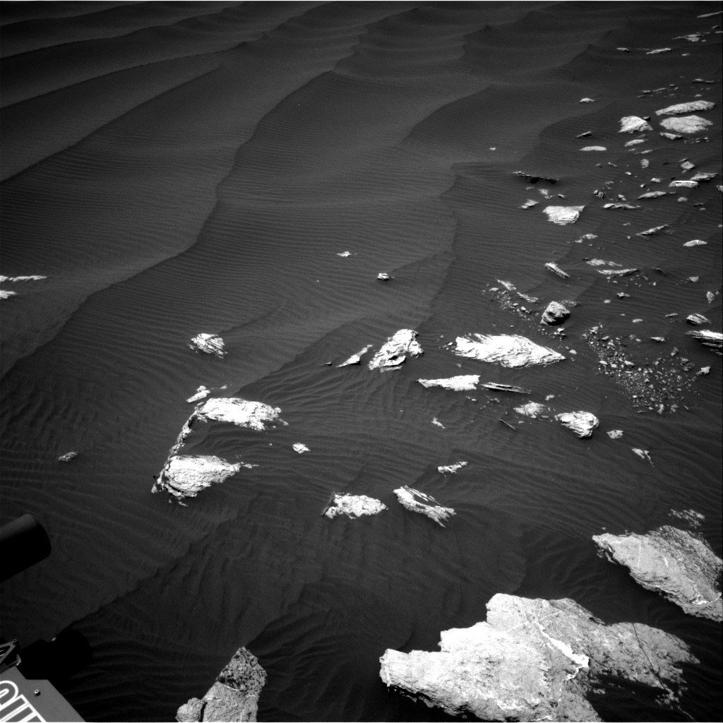 Nasa's Mars rover Curiosity acquired this image using its Right Navigation Camera on Sol 1601, at drive 3090, site number 60