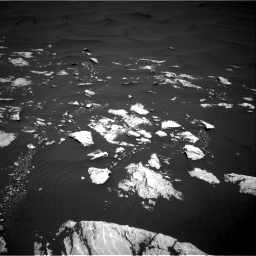 Nasa's Mars rover Curiosity acquired this image using its Right Navigation Camera on Sol 1601, at drive 3108, site number 60