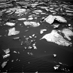 Nasa's Mars rover Curiosity acquired this image using its Right Navigation Camera on Sol 1601, at drive 3150, site number 60