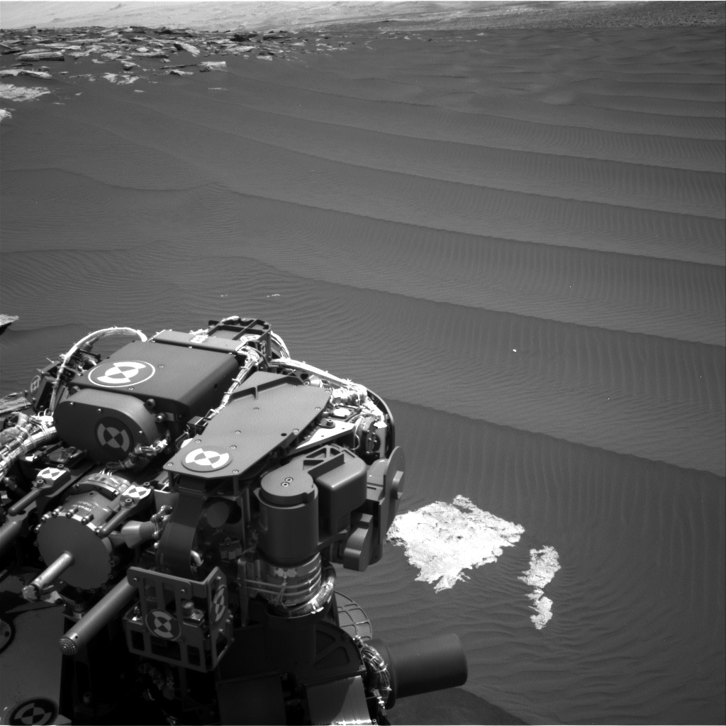 Nasa's Mars rover Curiosity acquired this image using its Right Navigation Camera on Sol 1601, at drive 3162, site number 60