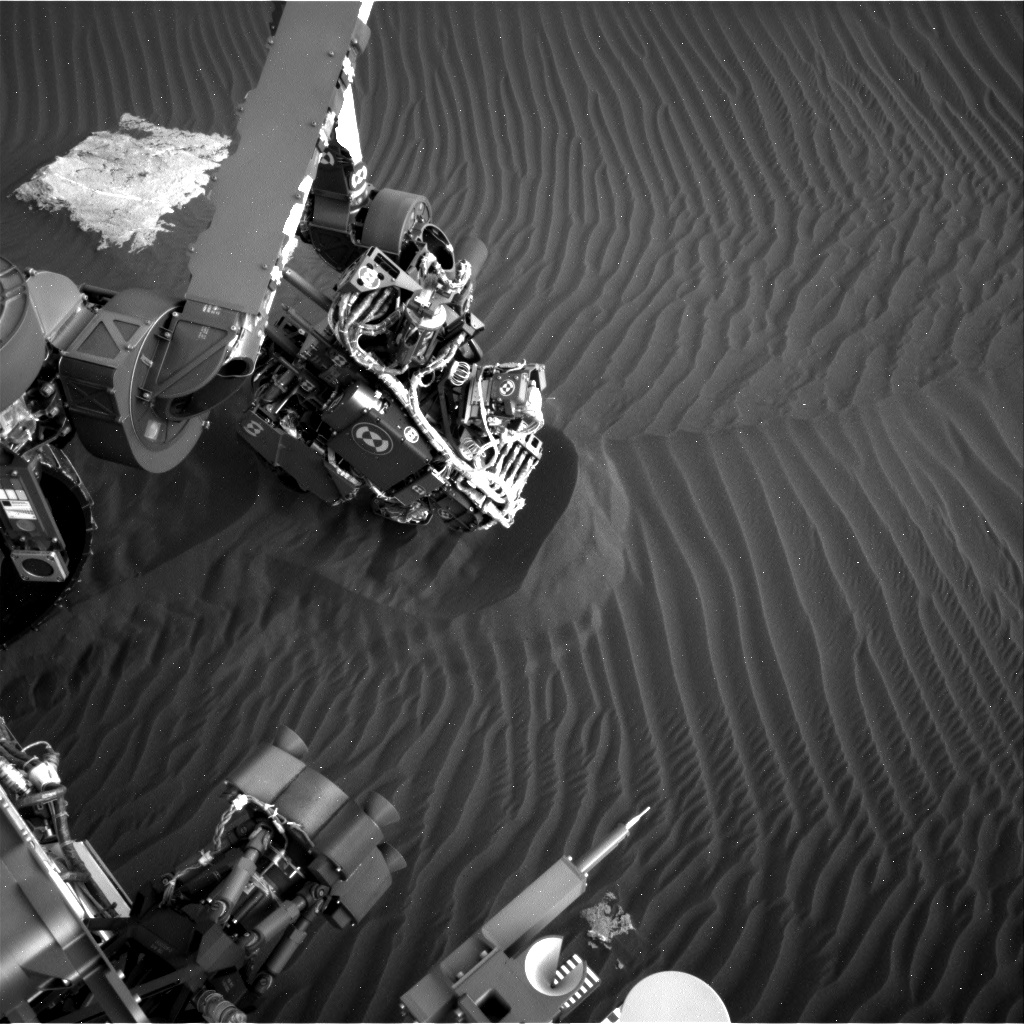 Nasa's Mars rover Curiosity acquired this image using its Right Navigation Camera on Sol 1602, at drive 3162, site number 60