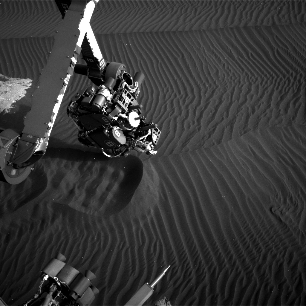 Nasa's Mars rover Curiosity acquired this image using its Right Navigation Camera on Sol 1603, at drive 3162, site number 60